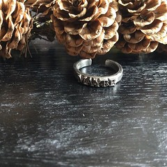 Bju00f6rg, Oxiderad silverring, Maybe