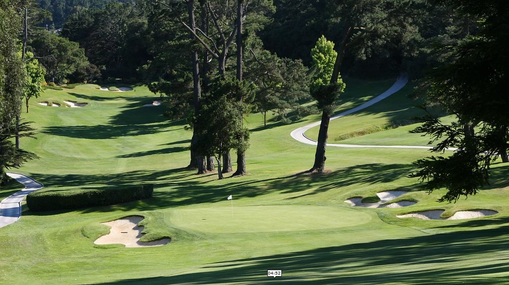 Again , well designed fairways and green, typical MacKenzie bunkers at Greenhills GC