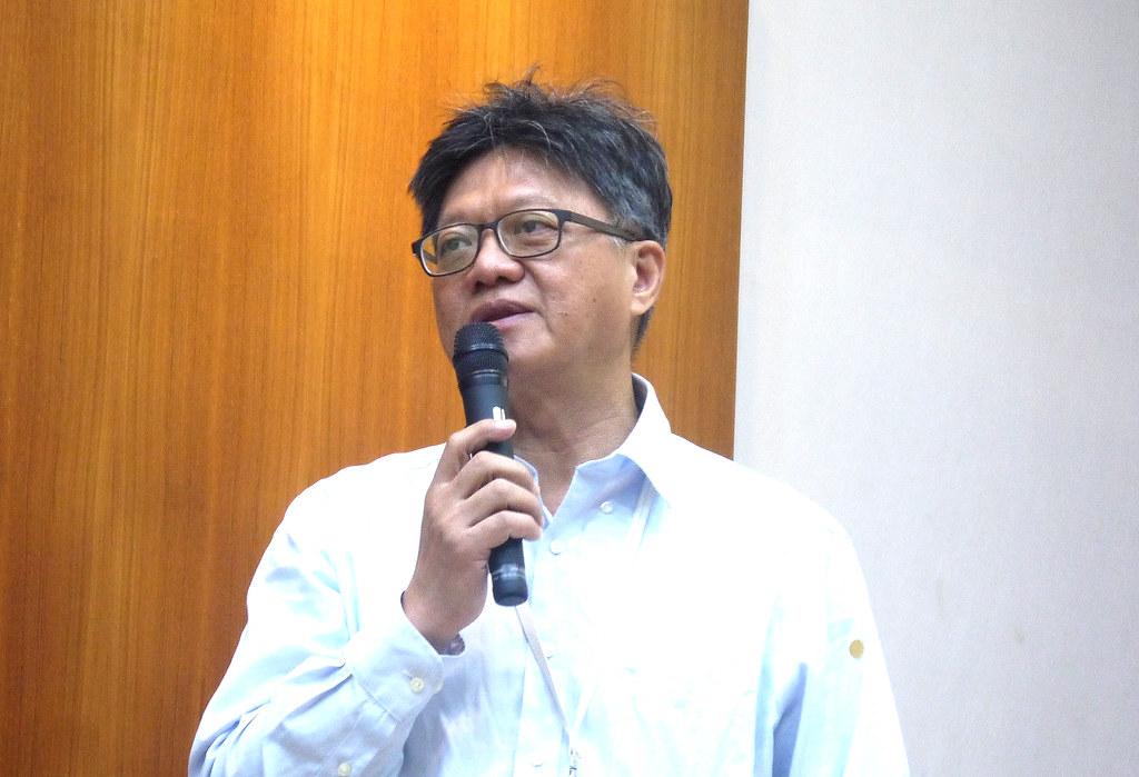 台灣環境保護聯盟秘書長許主峯。黃思敏攝