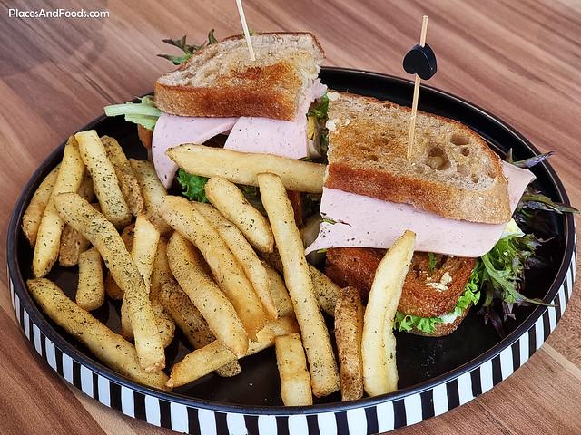 princeps bistro bukit tunku club sandwich
