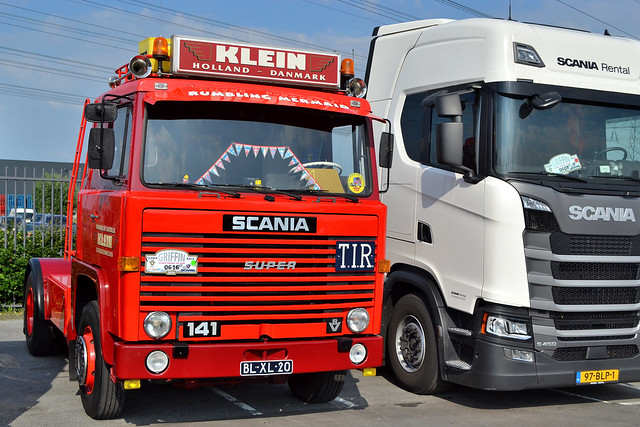 Scania 141 Klein Uithuizermeeden