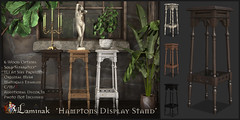 Hampton's Display Stand - New Item For Wanderlust Weekend