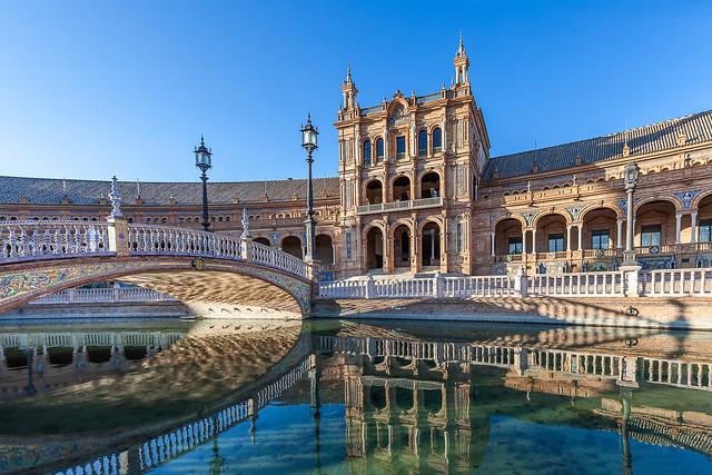 Explore! ⭐ April 16, 2021 Plaza de España. Sevilla. España