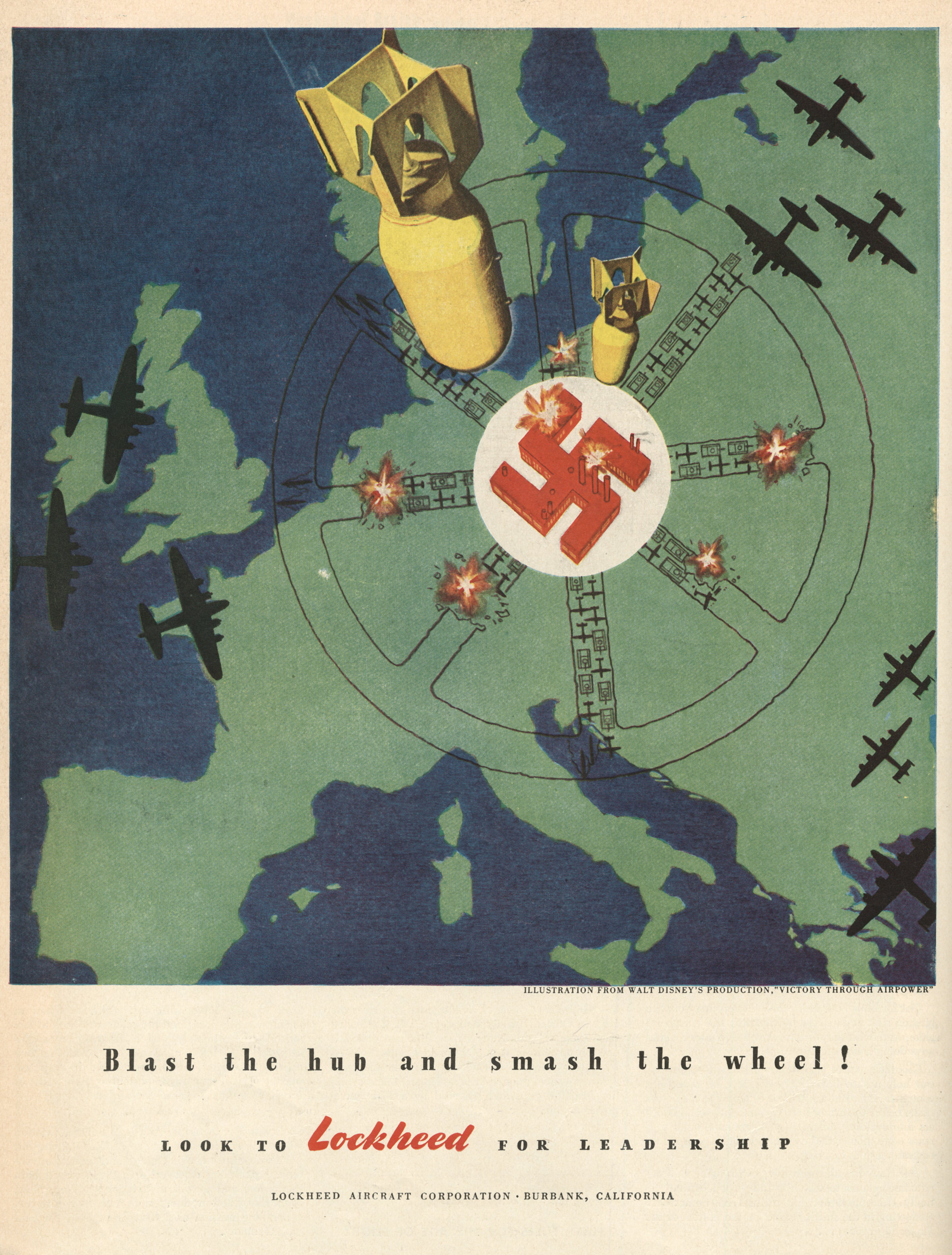 Lockheed Aircraft Corporation - published in Life - January 24, 1944