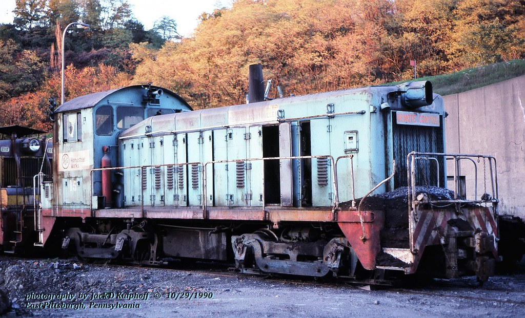 USSX 15, SW9, E. Pitt, PA. 10-29-1990