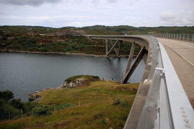 The Kylesku Bridge