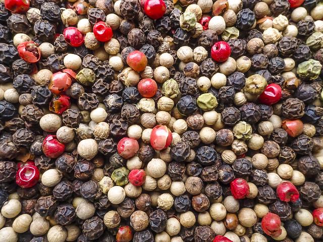 Bunter Pfeffer ; Colorful pepper