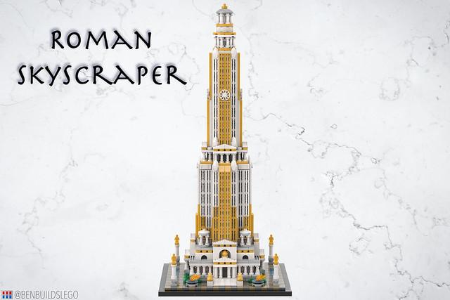 LEGO Roman Skyscraper