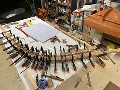 Forest of clamps - refining the stave positions
