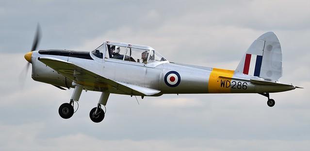 De Havilland DHC-1 Chipmunk T.10 RAF WD286 G-BBND