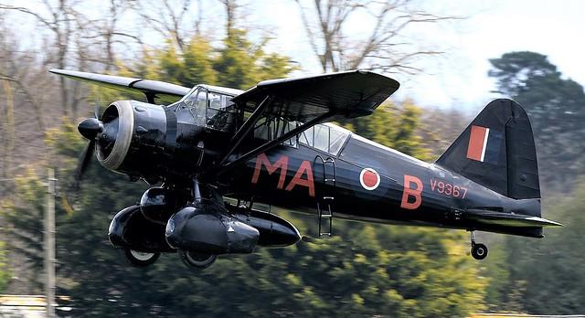 RAF Westland Lysander V9367 G-AZWT  RCAF  2355