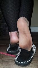 Wife got her feet a little dirty