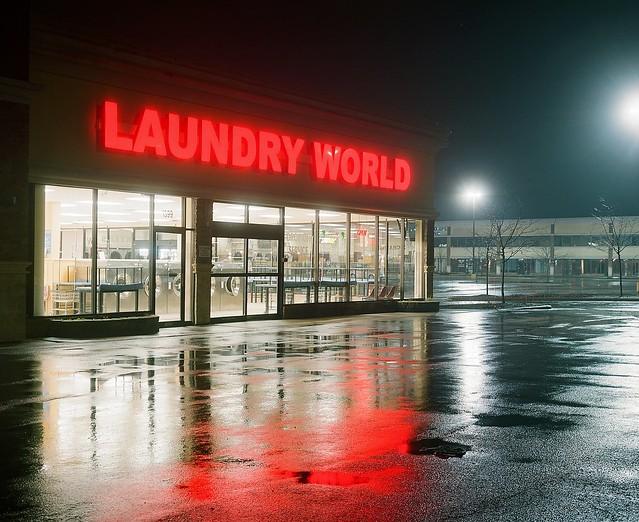Laundry World - analog