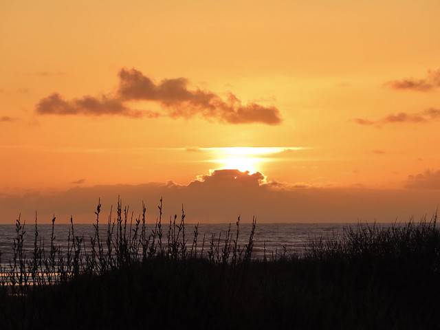 Sunset Pacific Beach Washington