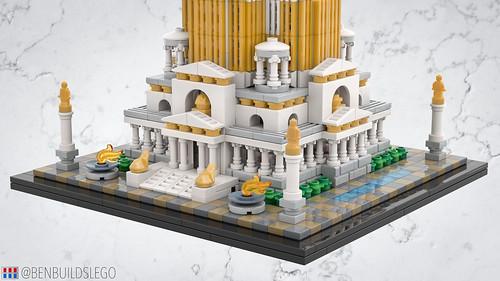 LEGO Roman Skyscraper [3]