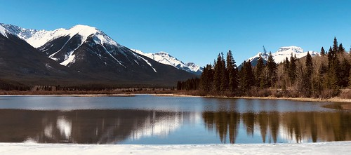 Beautiful Day in Banff  Explored #3  2021-04-16