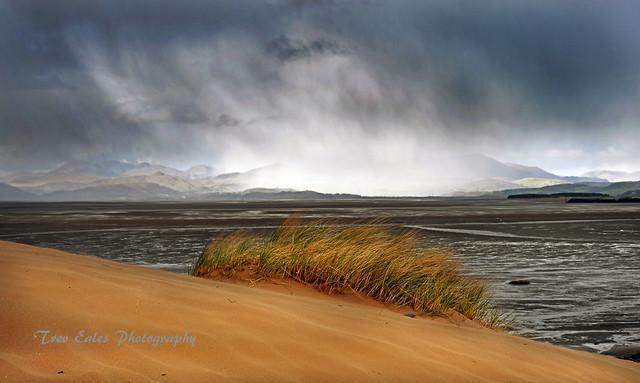 Impending snow: Sandscale Haws.