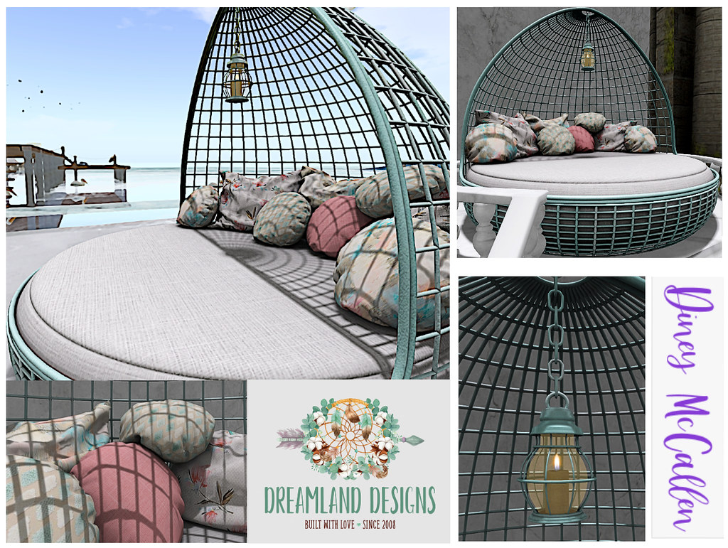 Harbor Round Beach Bed