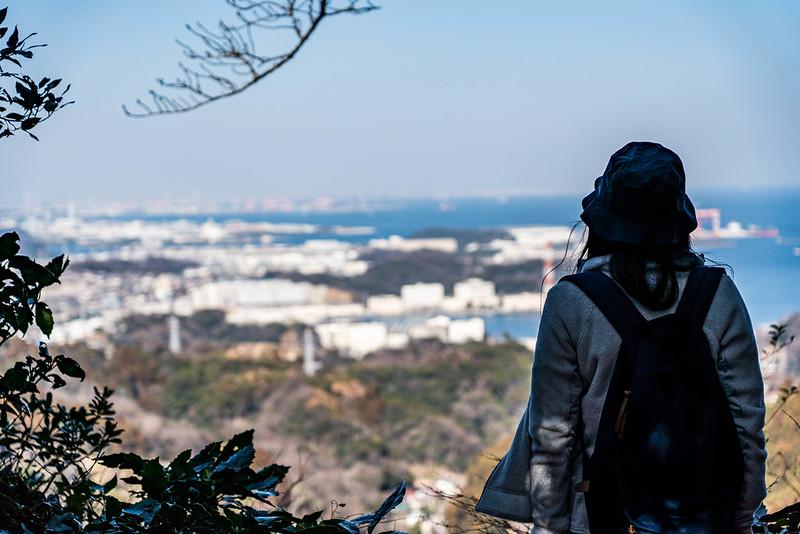 三浦アルプス 乳頭山から見える展望