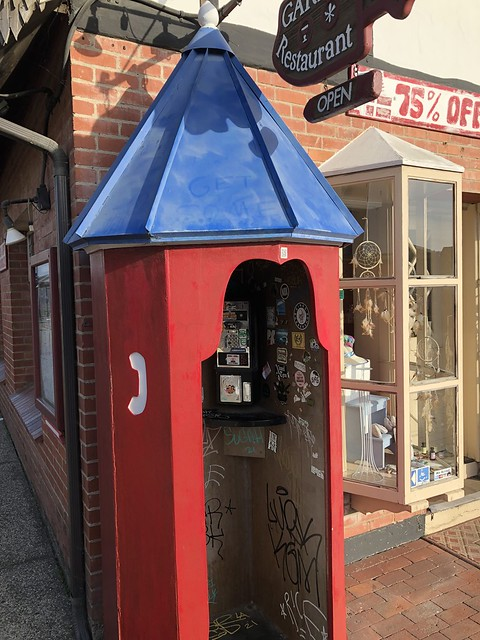 Solvang, CA, Phone Booth