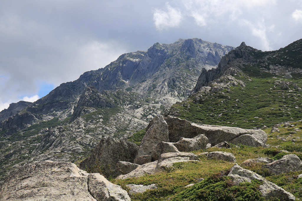 Corsica / Corse - On the way back from Monte Renoso (2,352 m)