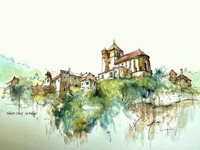 St Cirq Lapopie