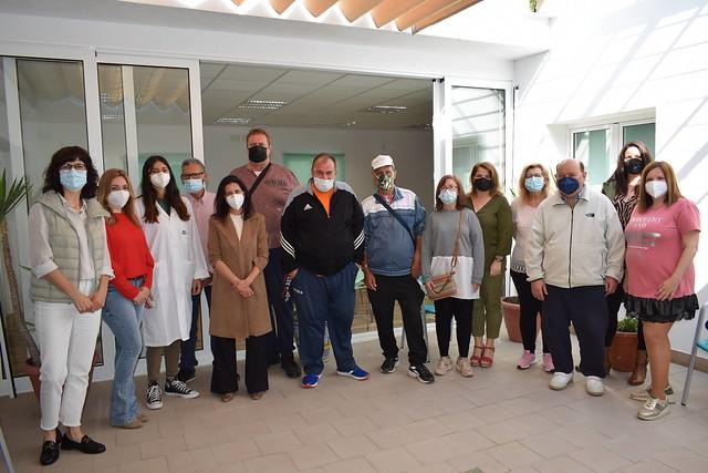 Visita a la nueva sede de Salud Mental - Los Palacios y Villafranca