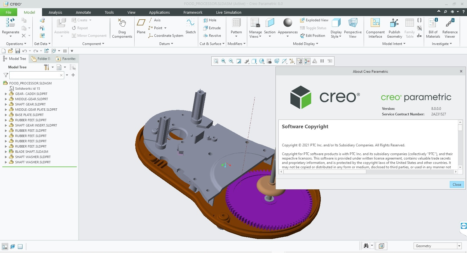 Download PTC Creo 8.0.0.0 + HelpCenter Win64 full license forever