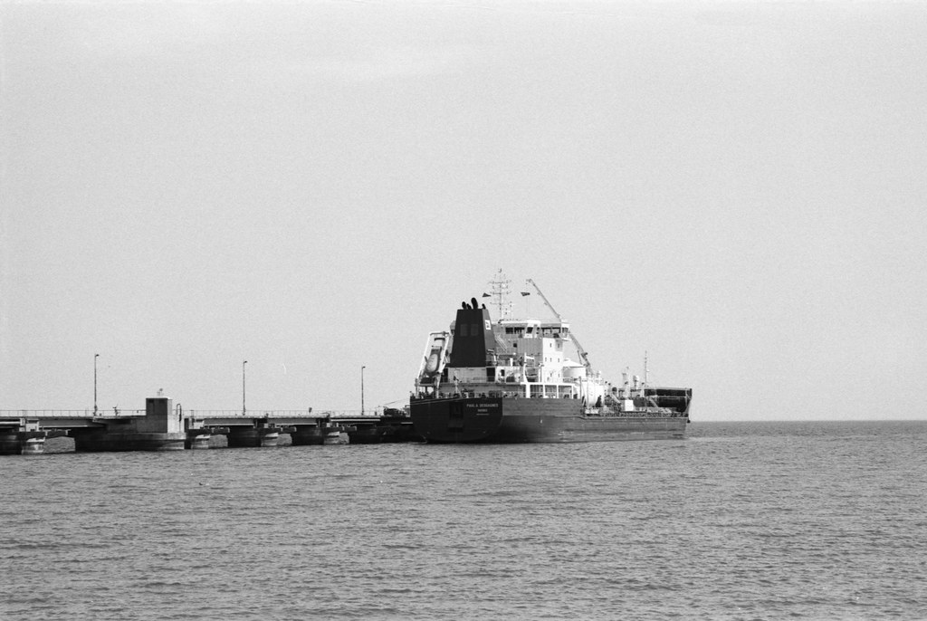 Docked Gas Carrier Two