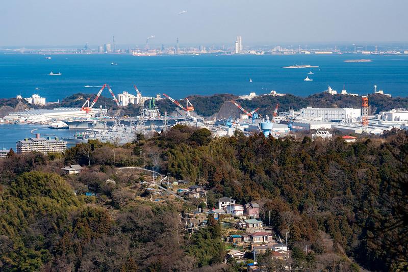横須賀と房総半島