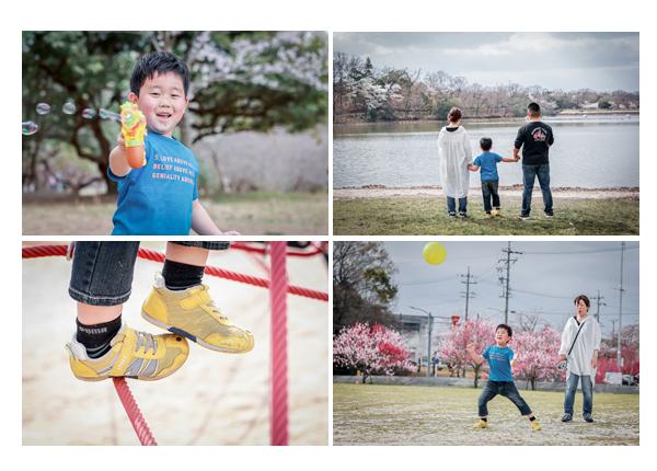 愛知県森林公園 ハナモモの季節 家族の休日