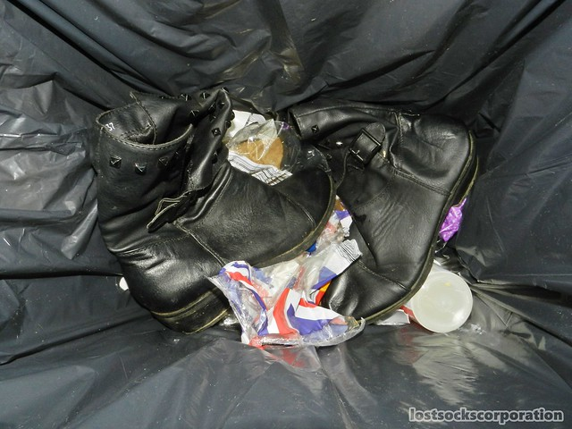 rubbish shoes