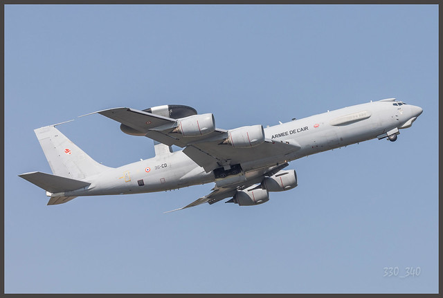 Boeing E-3CF Sentry ( Awacs ) - French Air Force