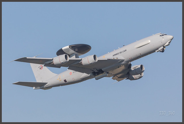 Boeing E-3F Sentry ( Awacs ) - French Air Force