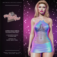 Aspen Holo Dress @ The Saturday Sale 4/17