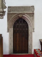 vestry doorway