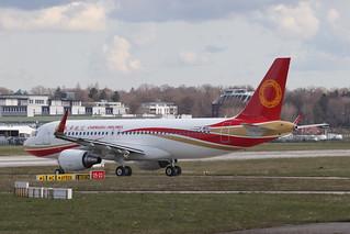 A320 Chengdu Airlines F-WHUJ