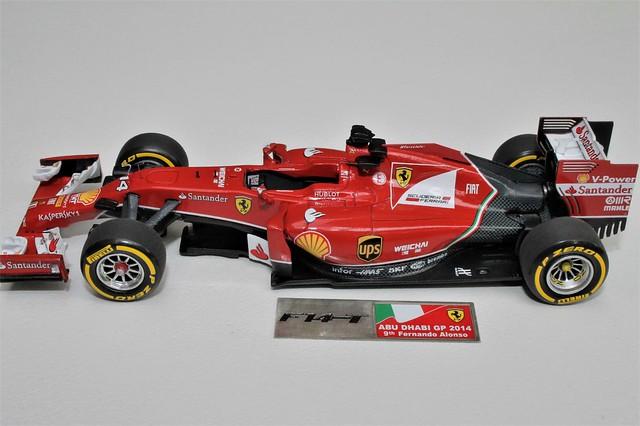 1/43 Ferrari F14-T (Fernando Alonso)