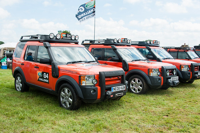 Land-Rover Discovery 3 G4 Chalenge - 2008