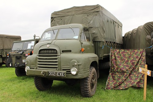 bedford british 1960s 1963 truck lorry military bedfordrl classic klassic oldtimer transport smallwood2017 302exe