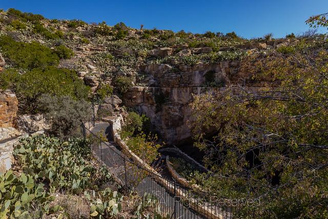 Natural Entrance Trail into Carlsbad Caverns