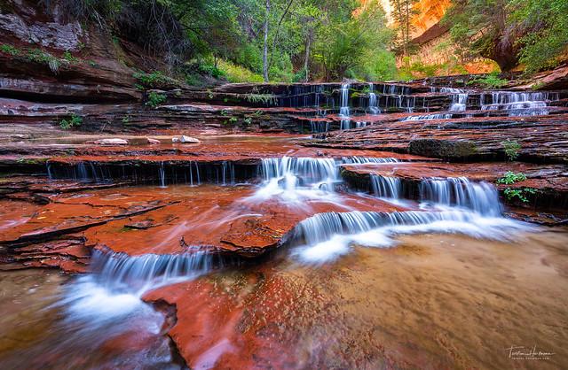 Archangel Falls, Zion NP (USA) [Explored]