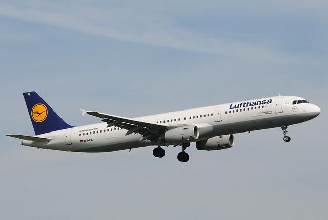 LH A321 D-AIRL