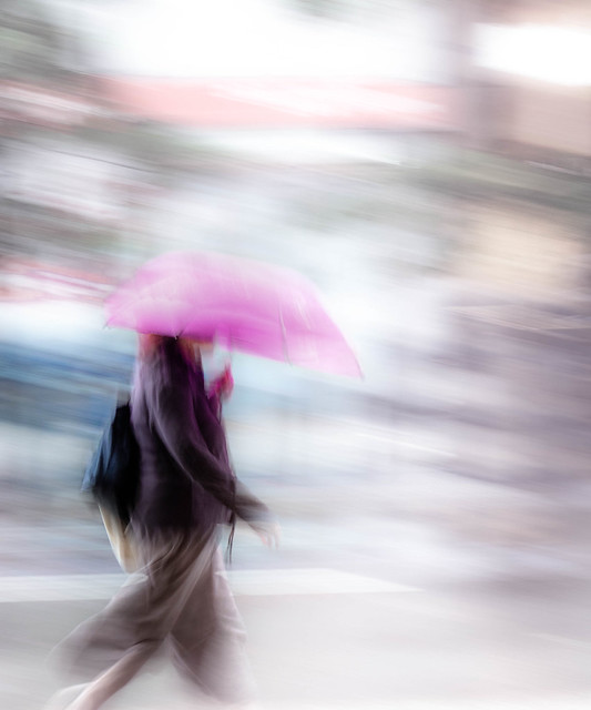 Panning in the rain