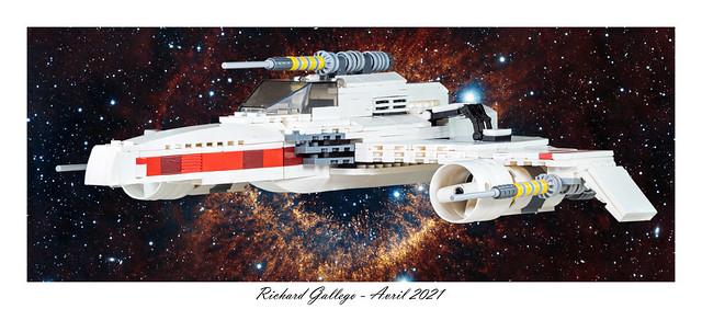 E-Wing Starfighter - Star wars.