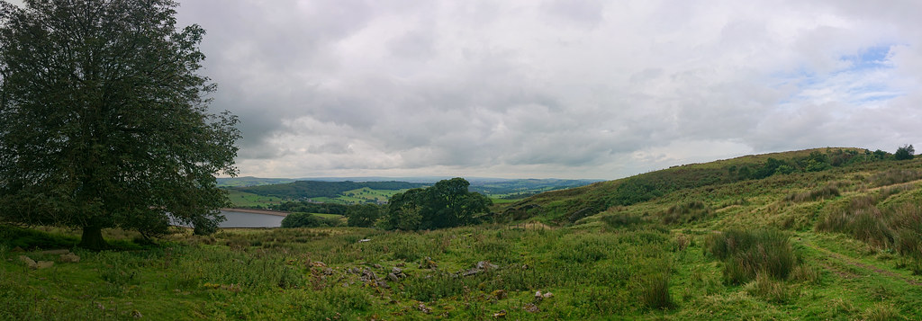Panorama from Pendle Hill