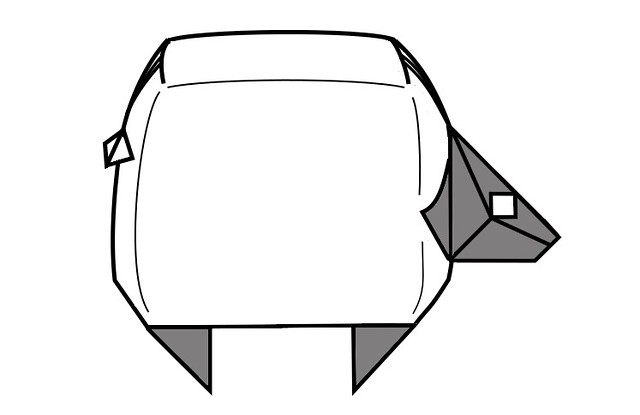 Origami Collection 2021 - Sheep diagram