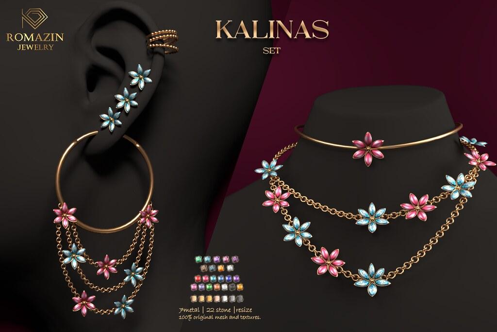 Romazin – Set <Kalinas>@Tres Chic