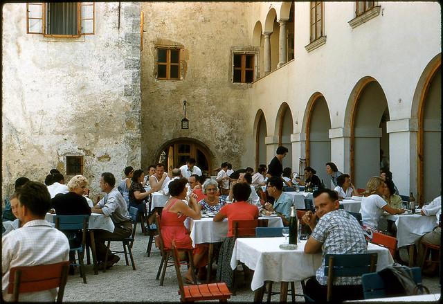 Otočec Castle, Slovenia, Yugoslavia, 1960