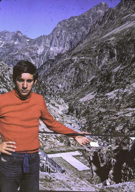 Yo, 15 años (Julio de 1971). Respomuso, Pirineos 2200 m